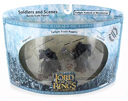 Herr der Ringe/Lord Of The Rings- 3-er Pack - Twilight Ambush at Weathertop - Ringwraith / Ringgeist + Twilight Frodo + Ringwraith / Ringgeist - Play Along