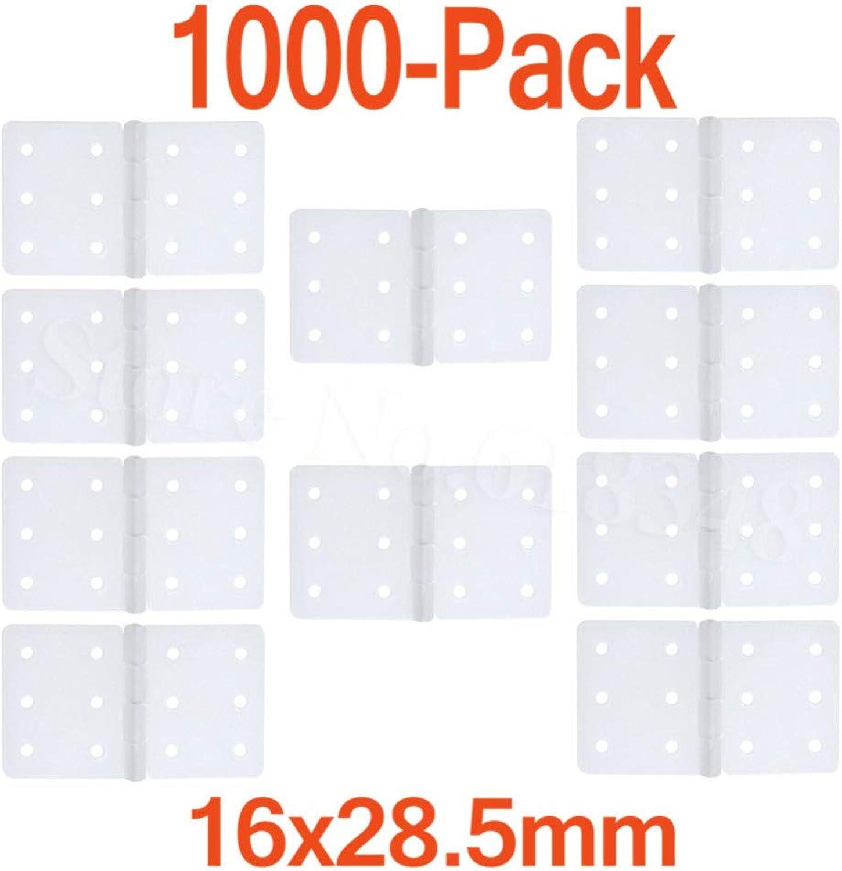 662b190e64f0 Laliva 1000pcs Pinned Nylon Hinges 16x28.5 mm for Remote Control RC ...