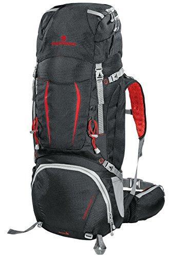 Ferrino Overland Zaino Trekking, Rosso, 50+10 L