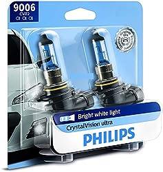 the philips 9006 crystalvision headlight bulb