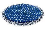 Amilian Krabbeldecke Spieldecke Decke Kinderteppich Kriechmatte Spielbögen Anker groß Blau (140 cm)