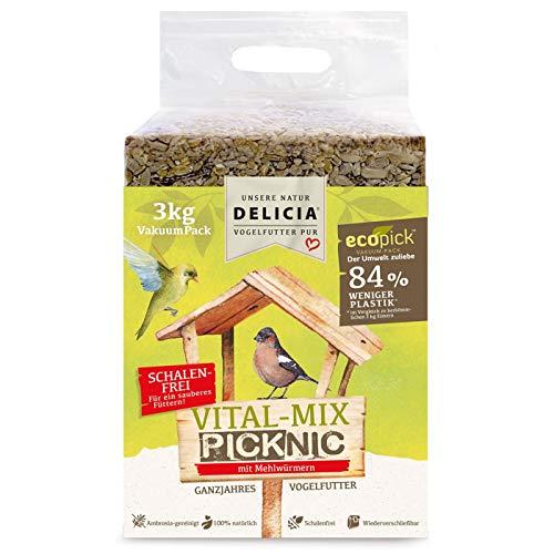 Delicia PICKNIC Vital-Mix mit Mehlwürmern VakuumPack 3kg