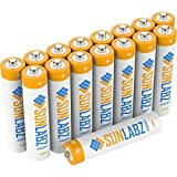 8 pack SUNLABZ NiMH Rechargeable batteries AAA