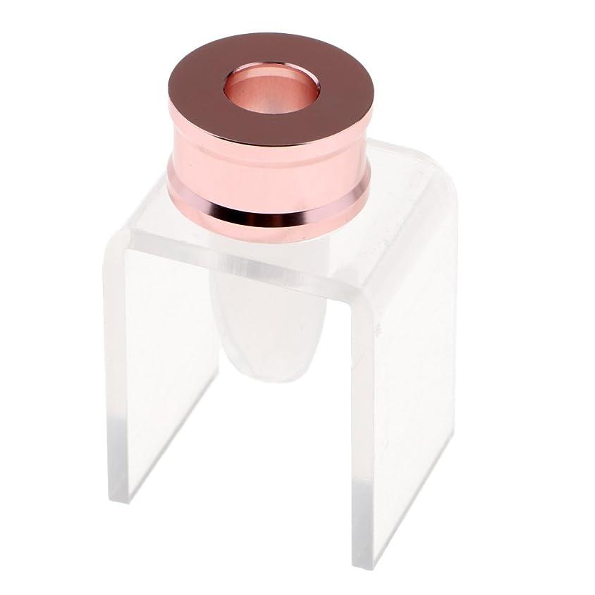 モルヒネ扇動する表示Kesoto リップスティック DIYセット 口紅リング 金型ホルダー リップバーム DIY 金型 ツールキット 12.1mmチューブ 7タイプ選べる - #5