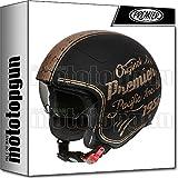 Premier Casque moto ROCKER OR19 BM, Noir/Or, L