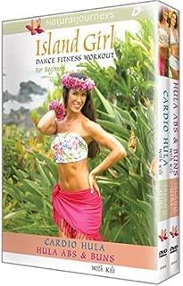 Island Girl Dance Fitness Workout For Beginners: Cardio Hula / Hula Abs & Buns Set