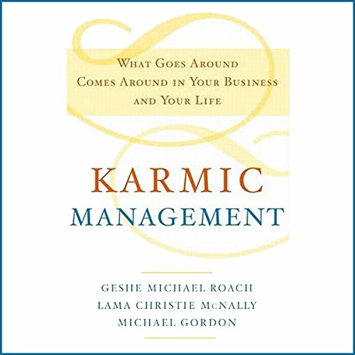Karmic Management audiobook cover art