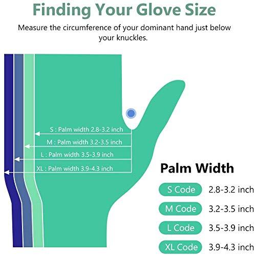 Disposable Gloves, Squish Clear Vinyl Gloves Latex Free Powder-Free Glove Health Gloves for Kitchen Cooking Food Handling, 100PCS/Box, Medium