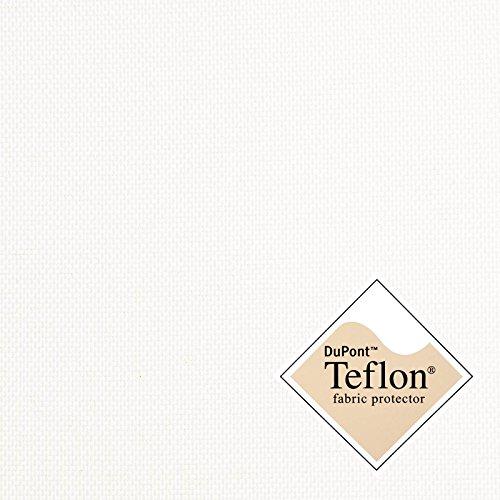 aktivstoffe (8,49€/m) Breaker Teflon - Tela Repelente al Agua - A Prueba de Viento - Muy Robusta - por Metro (Color Crema/Blanco)