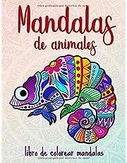 Mandalas de animales: 50 mandalas de animales para niños a partir de 10 años, creatividad, relajación y concentración