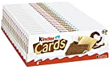KINDER CARDS SPECIAL EDITION - KINDER CHOCOLATE BISCUITS (20x128g)