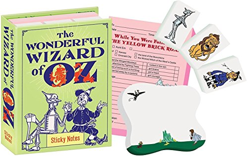 The Wonderful Wizard of Oz Sticky Notes Booklet