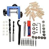 Guida di Trapanazione caviglia foro di centraggio in legno Jig Kit di posizionamento per lavorazione del legno carpenteria utensile di posizionamento carpenteria con taglierina a foro