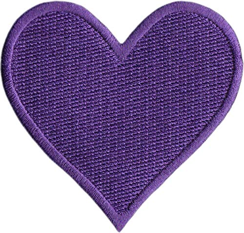 Purple Heart - Embroidered Iron on Patch
