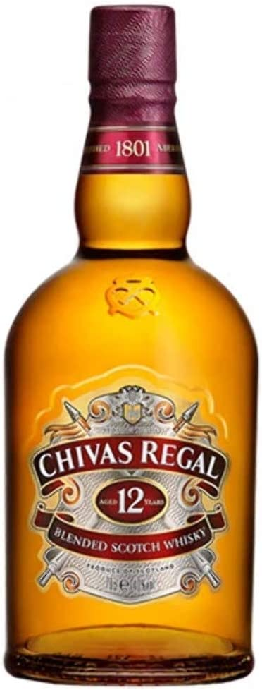 CHIVAS SCOTCH REGAL WHISKY 12 AOS 70 CL
