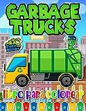 Garbage Truck Libro Para Colorear: Libro De Colorear De Los Camiones De Basura Con Las Imágenes De Alta Calidad Para Los Niños Y Los Niños