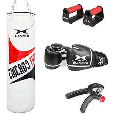 HAMMER Chicago Fight 7-teilig Box-Set, Weiß, 100 cm