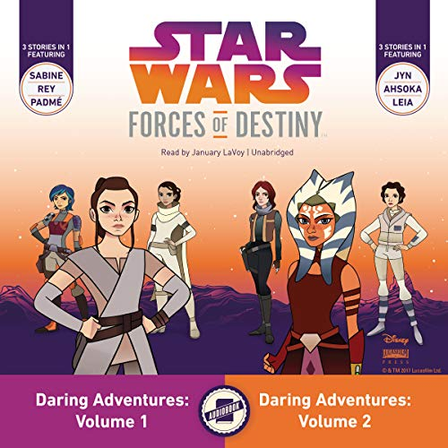 Star Wars Forces of Destiny: Daring Adventures, Volumes 1 & 2 cover art