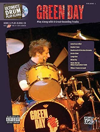 Ultimate Drum Play-Along: Green Day (Book & CD) by Green Day(2007-04-01)