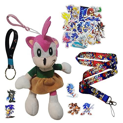 Sonic Pendants SONIC ratón supersónico juguete de peluche azul ratón supersónico, niño sónico, hermoso erizo