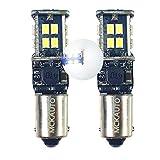 MCK Auto - Remplacement pour H6W BAX9s LED Set d'ampoules blanches très claires et sans erreur...