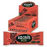 Adonis Low Sugar Bar - Barre aux Noix de Pécan et au Cacao Sans Sucres Ajoutés | 100% Naturelle,...