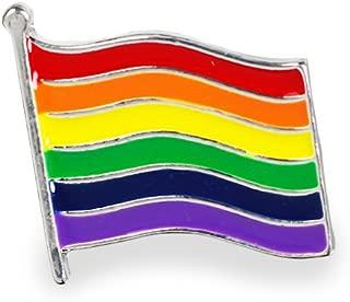 LGBTQ-Small Rainbow Flag Pin