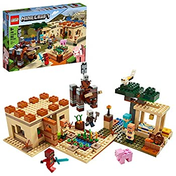 LEGO Minecraft The Illager Raid 21160 Building Toy Action Playset for Boys and Girls Who Love Minecraft New 2020  562 Pieces