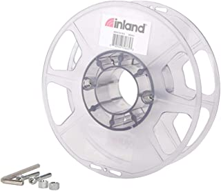 Inland Clear PLA/PLA PRO (PLA+) 3D Printer Filament Reusable Spool, for Inland PLA/PLA PRO (PLA+) Refill only
