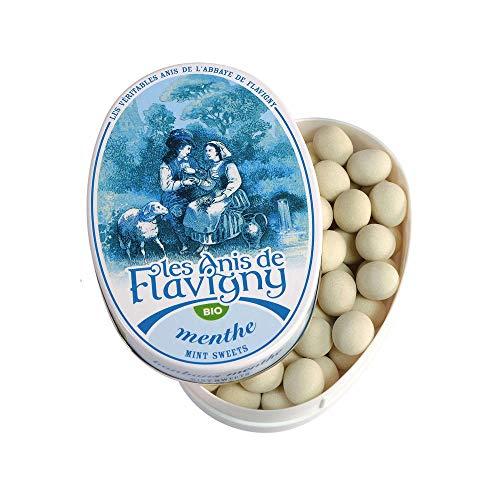 Les Anis de Flavigny Pfefferminz-Bonbons (50 g) - Bio