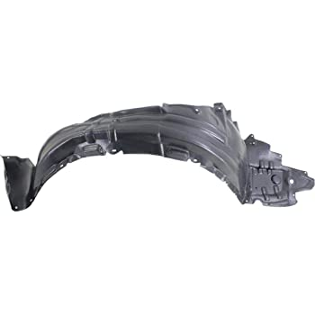 For Lexus CT200h 2011-2015 Replace LX1248113 Front Driver Side Fender Liner