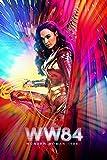 Wonder Woman 1984 4 c18265 A1 Poster - Papel fotográfico grueso brillante (33/24 inch) (84/59 cm) - Película Película Decoración de pared Arte Actor Actriz Regalo Anime Auto Cinema Room Decoración d