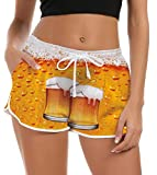 Fanient Shorts Mujer Pantalones Cortos de Nadar Moda Pantalones de Pijama Cortos Mujer Traje de...