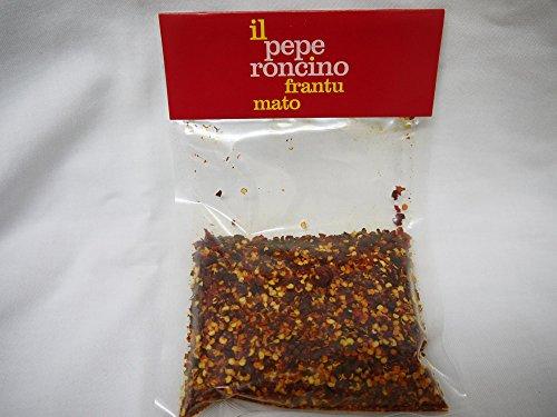 粗挽き唐辛子 トンマーゾ・マシャントニオ農園 乾燥ペペロンチーノ 100g