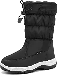 CIOR Women's Snow Boots Winter Waterproof Fur Lined Frosty Warm Snow Boots