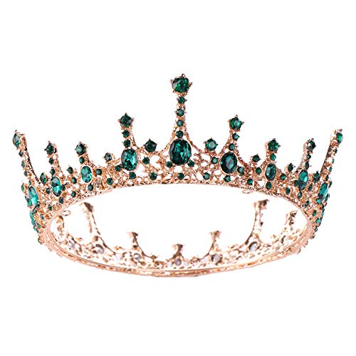 Zhangyy Corona Nupcial Desfile De Metal Princesa Tiaras Ni?A O Mujer Fiesta...