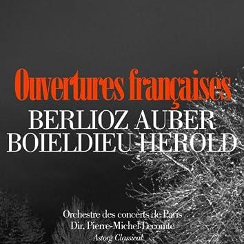Ouvertures françaises : Berlioz, Auber, Herold, Boieldieu