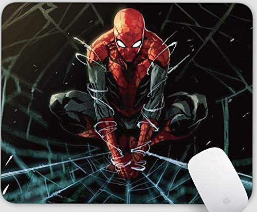 Gmaing Mouse Pad Series Anti-Slip Rectangle Mouse Mat for Office Computer Mousepads (Spiderman)