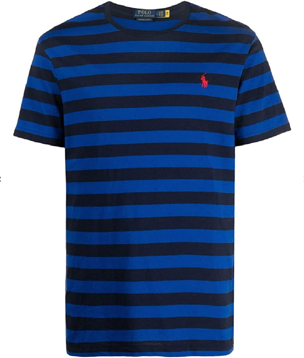 Polo Ralph free Lauren 2021 model Men's Pony T-Shirt Neck Crew Logo