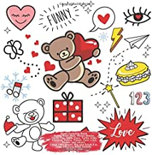 Small Coloring Book Funny Bear, Hair, Horse, Masks, Trolls, Cat, Owls, Cars, Turtle, Kitty, Chinese, Tattoo, Power, Cow, Lion, Flower and others. ... (Coloring Book Funny Bear and others Doodle)