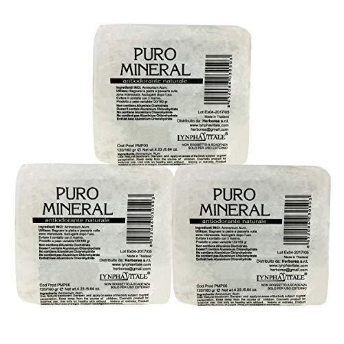 Kristal deodorant ruwe steen - 100% natuurlijke