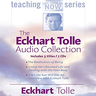 The Eckhart Tolle Audio Collection                   By:                                                                                                                                 Eckhart Tolle                               Narrated by:                                                                                                                                 Eckhart Tolle                      Length: 7 hrs and 23 mins     112 ratings     Overall 4.5