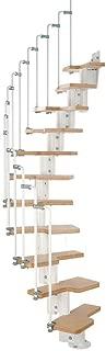 Arke Karina Modular Stairway Kit - WHITE (11 Treads - 82