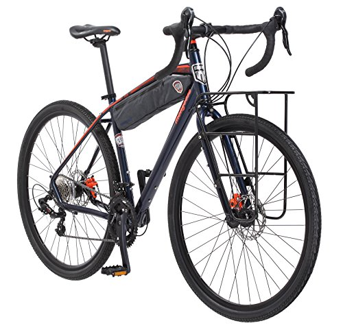 Mongoose Men's Elroy Adventure Bike 700C Wheel...