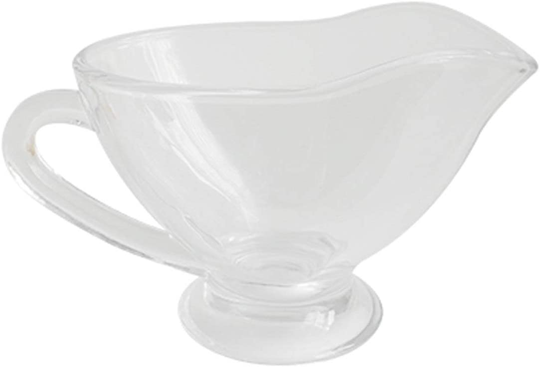 Creamer Pitcher Glass Cream with Sugar Ranking TOP19 Direct store Handle 170ml Bowl