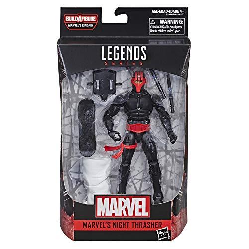 Spider-Man Legends Series 6' Marvel's Night Thrasher Toy