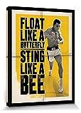 Muhammad Ali 1art1 Schweb Wie EIN Schmetterling, Stich Wie