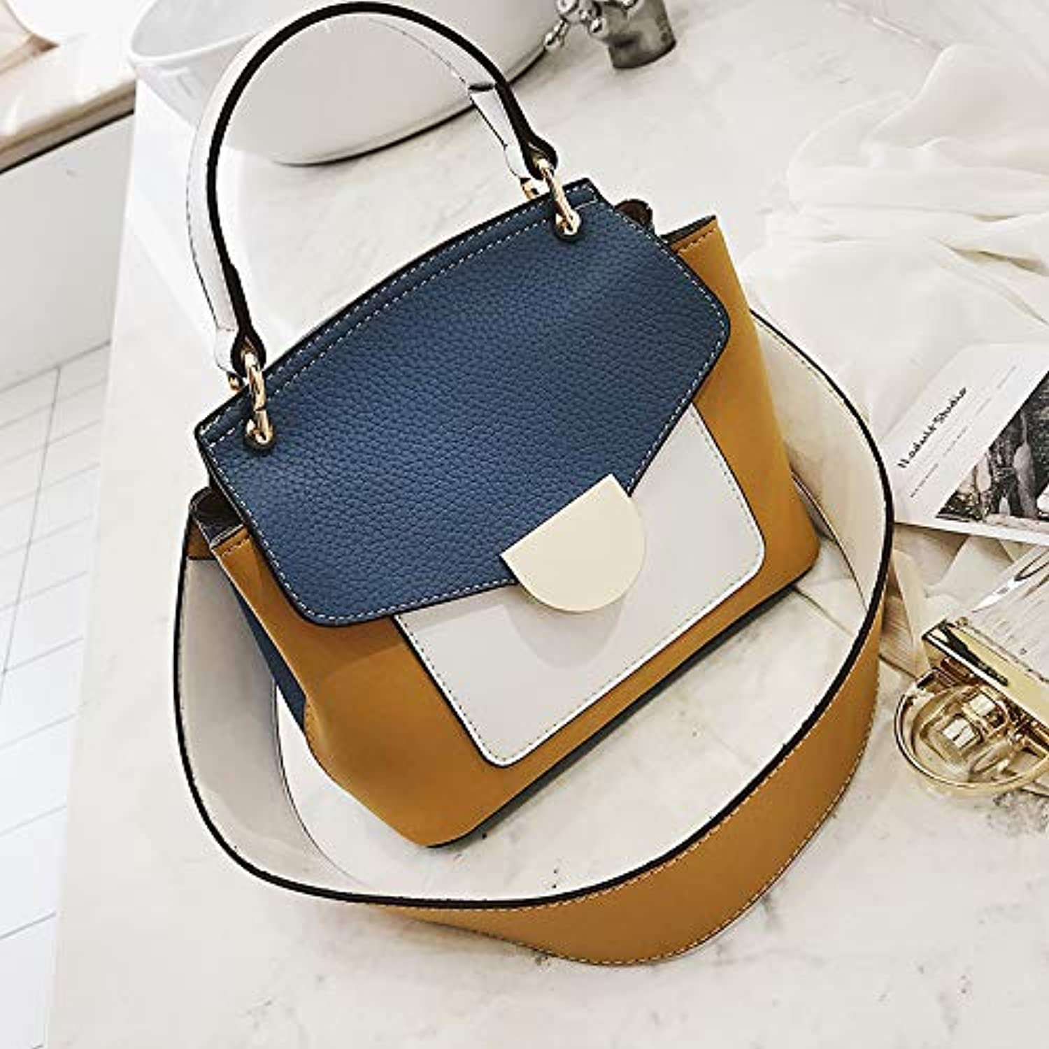 WANGZHAO Handbag, Shoulder Bag, Sloping Bag, Simple Leisure