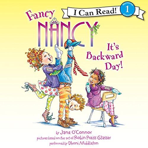 Fancy Nancy: It's Backward Day! audiobook cover art