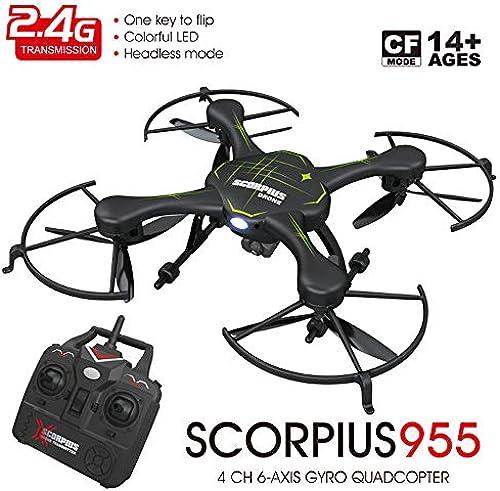 TONGTONG Drohne mit Kamera, Arme RC Drone mit Wi-Fi-Kamera Quadcopter Altitude Hold, Headless Mode, 3D Filp, One Key Return Easy Operation für Kinder und Anf er
